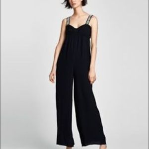 BOGO 1/2 off Zara jeweled strap jumpsuit